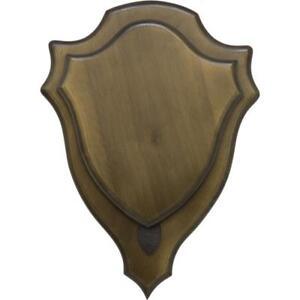 Engraving-Plate-Hunting-Trophy-Carved-Wooden-Board-Shield-Holder-Medals-DT-20