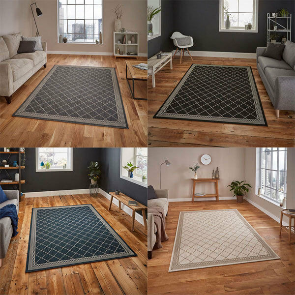 Think Rugs Cottage CT7643 Flat Weave Rug