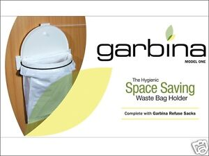 Garbina-Cupboard-Door-Waste-Bin-Caravan-Motorhome-Boat-Bag-Frame-WM1022