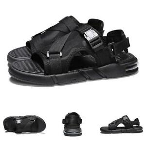 Mens Beach Slingbacks Sandals Shoes Open Toe Walking Flats Non-slip Sports New B