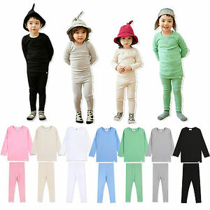 Korea Vaenait Baby Clothes Kids Boys Girls Cotton Outfit