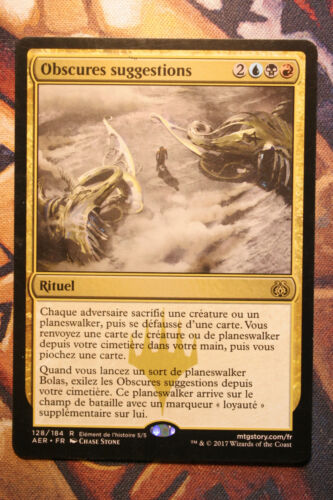Dark Intimations//Obscures suggestions     MTG Magic VF