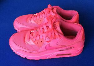 Nike Air Max 90 Gr. 38,5 neon pinkgelbweißgrau