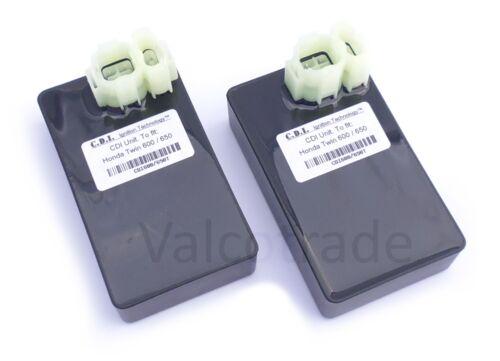 2 X CDI for Honda Transalp XL 600V XRV 650 Africa Twin ECU Matched Pair MS8
