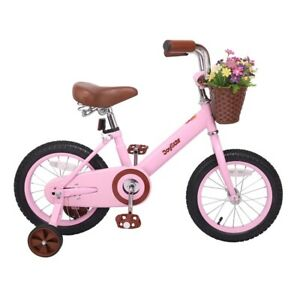 Joystar 16 Kids Bike With Basket Training Wheels Ebay