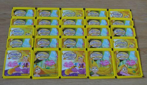 Panini Disney Rapunzel la serie 25 bolsas//125 sticker mi sticker días libro