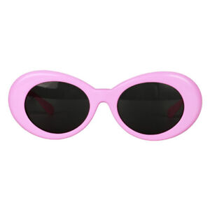 e73951adb3653 Image is loading Vintage-Womens-Pink-Clout-Goggles-Glasses-Kurt-Cobain-