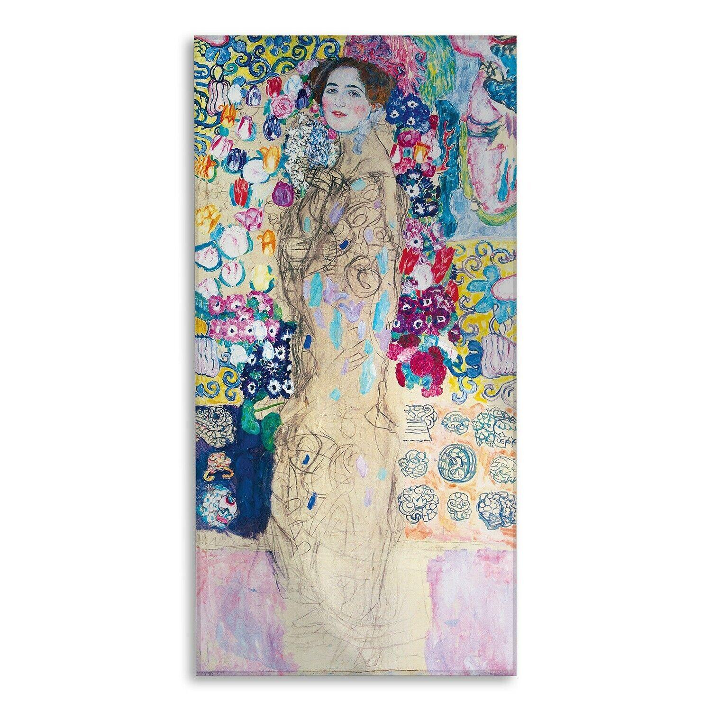 Vetro Acrilico - Gustav Klimt - Ria Munk III - Tirage d'Art - Prêt à accrocher
