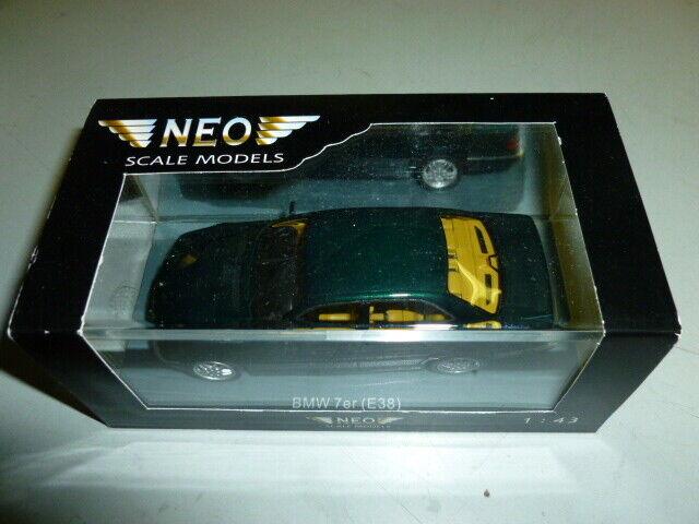 Obtén lo ultimo Die cast 1 1 1 43  NEO- BMW 7  ER   E38  RARE  NEW WITH BOX  ventas al por mayor