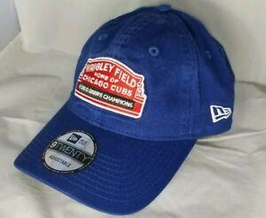 ad42f365c0c Chicago Cubs Wrigley Field New Era MLB World Series Champ 9TWENTY ...