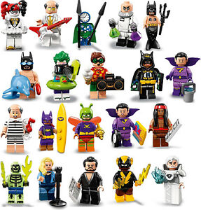 Lego ® Minifigure Figurine 71020 Series Batman Movie Série 2 Choose Minifig NEW