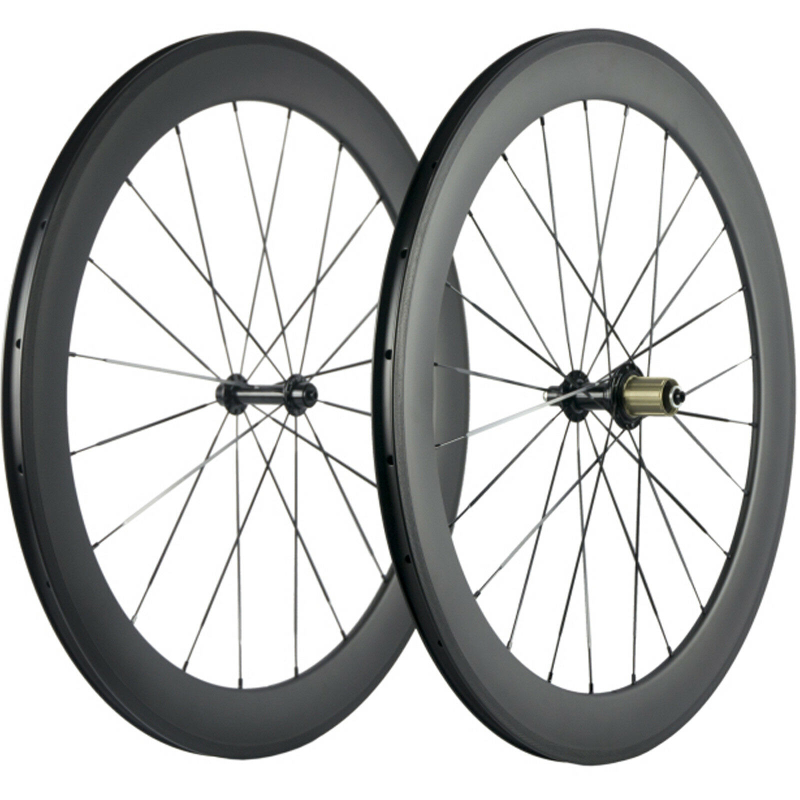 UD Matte Clincher Carbon Wheels 60mm Road Bike Carbon Wheelset R13 Carbon Wheel