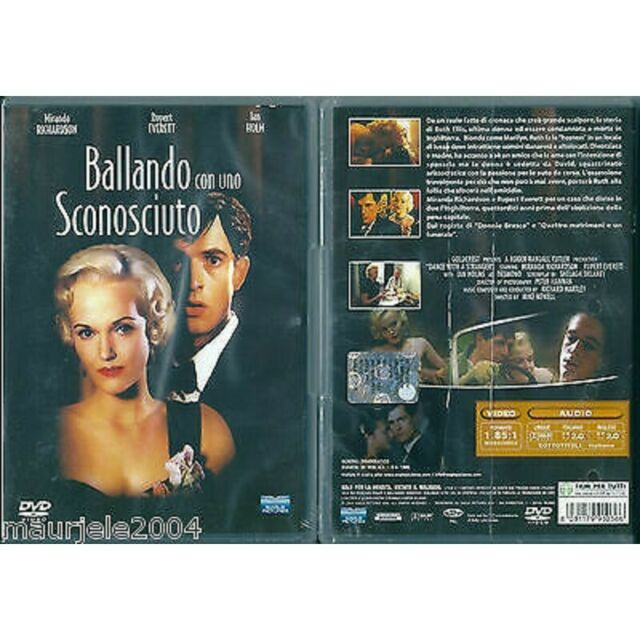 DVD Ballando con uno sconosciuto (1985) DVD NUOVO Rupert Everett. Miranda Richar