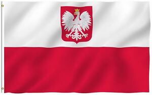 Poland-Eagle-Flag-Polish-National-Banner-Polyester-3x5-Foot-Country-Flags
