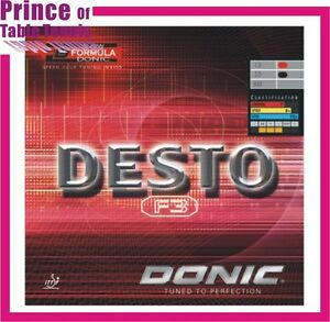 Donic Desto F3 Table tennis Pimples in Rubber