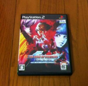 THE-KING-OF-FIGHTERS-2002-UNLIMITED-MATCH-SNK-Playmore-KOF-Play-Station-2-Japan