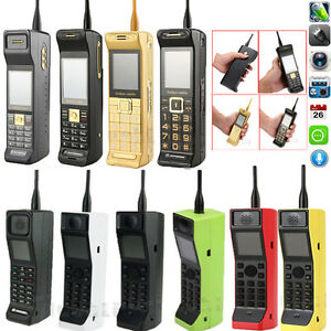 2017 NEW Classic Vintage Brick Retro Mobile Cell Phone Camera Dual SIM Bluetooth