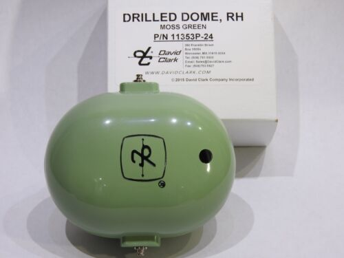 H3310 ORIGINAL DAVID CLARK 3 pc others REPLACEMENT DOMES /& SHIELD for H-3312