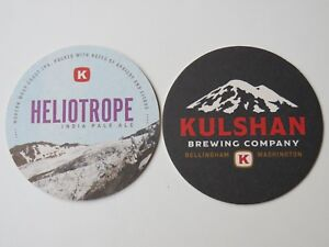 2 Bière Brewery dessous de Verre - Kulshan Brewing Heliotrope Ipa ~ Bellingham- iNpaLy4q-08021321-226552820
