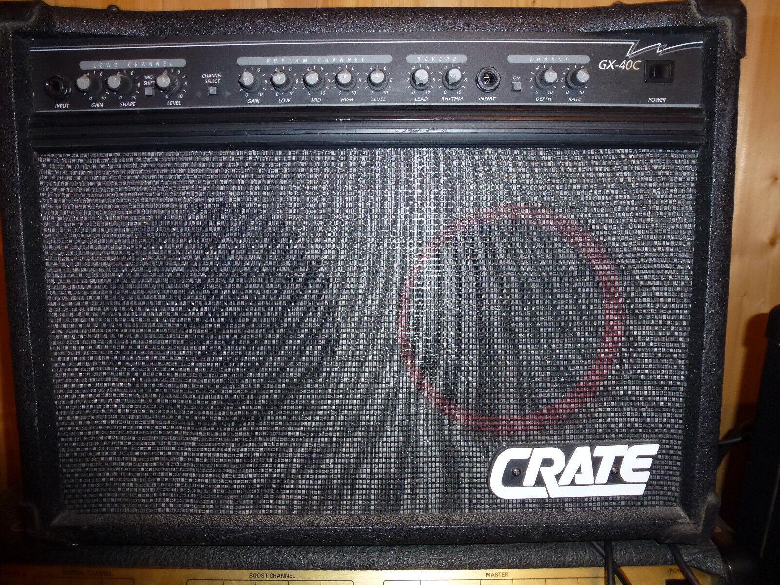 Crate Crate Crate GX40c   Stereo Chorus  Transistor 40W b2613b