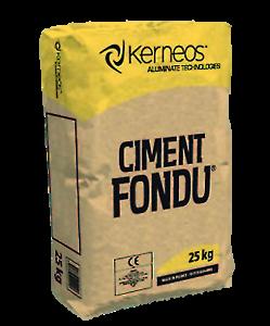 Ciment Fondu, Fire Cement, High Temperature High Alumina Cement Fondu 25kg