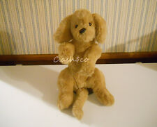 "Gund vintage Muttsy 1985 puppy dog plush stuffed suede paws Rare 15"" long"