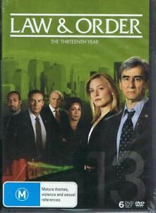 LAW-amp-ORDER-The-Thirteenth-Year-6-x-DVD-Set-Free-Post-Season-13-t11