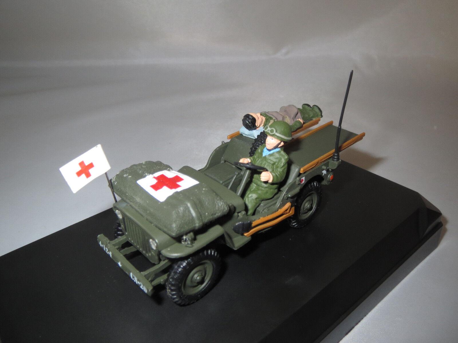 Ahorre 60% de descuento y envío rápido a todo el mundo. Victoria r028 Jeep Willys Ambulance U.S. U.S. U.S. Army normandy  1944  1 43 original   al precio mas bajo