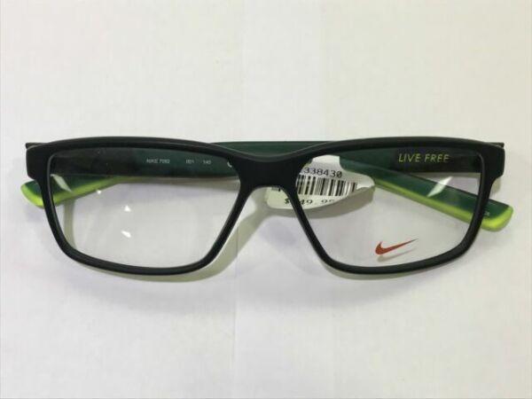 fantasma Gracias por tu ayuda Extensamente  Authentic Eyeglasses Nike 7092 001 Matte Black/volt for sale online | eBay