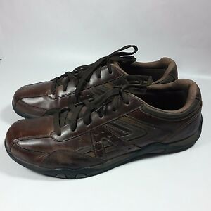 men's skechers relaxed step walking comfort casual shoes