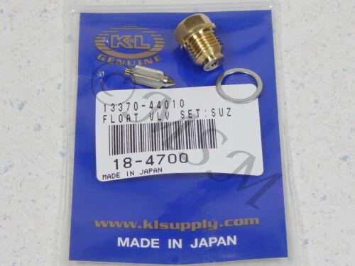 SUZUKI NEW K/&L FLOAT VALVE NEEDLE /& SEAT ASY 18-4700