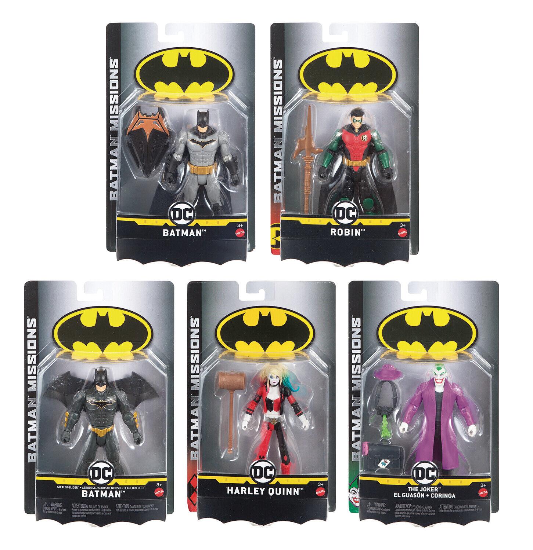 Batman Missions Night Jumper Batman Figure Mattel FVM85