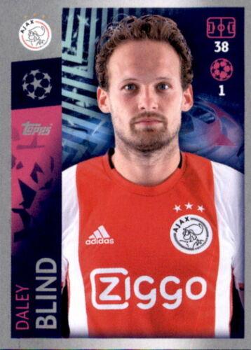 Daley Blind Ajax Amsterdam Champions League 19 20 2019 2020 Sticker 501