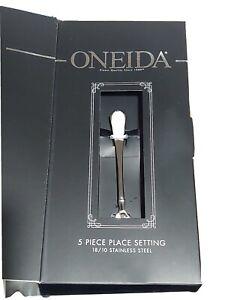 Oneida JUILLIARD 5 Piece Place Setting 18/10 Heirloom Stainless Flatware GallyHo
