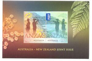 Australie-anzac Feuille Neuf Sans Charnière 2015-militaire-c Sheet Mnh 2015-militaryafficher Le Titre D'origine