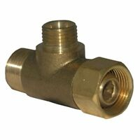 Lasco 06-9101 Angle Stop Add-a-tee Valve, 3/8-inch Compression Inlet X 3/8-inch on Sale