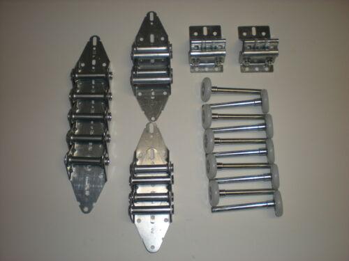 Garage Door Hinge and Roller Tune up Kit for 10/' x 10/' or 12/' x 10/' Door