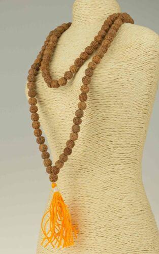 Gebetskette Rudraksha Mala Rosenkranz Halskette Necklette Indien Buddhismus 18d