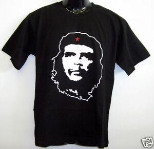 Fun-T-Shirt-Che-Guevara-Schwarz-S-XXL
