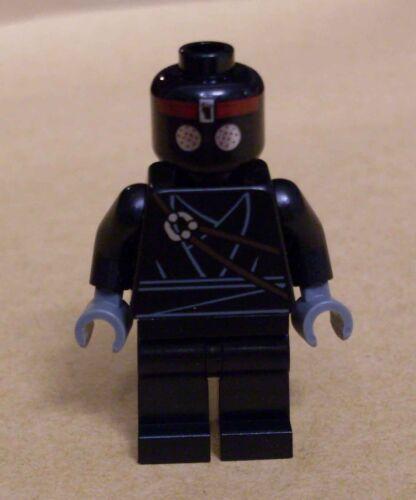 Lego Teenage Mutant Ninja Turtles Foot Soldier Figur Soldat schwarz Neu