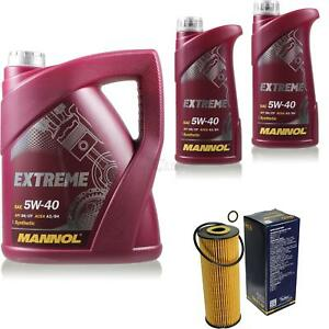 Olwechsel-Set-7L-MANNOL-Extreme-5W-40-Motoroel-SCT-Filter-KIT-10199239