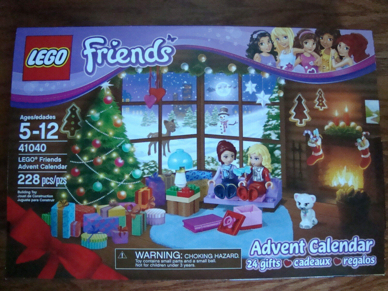 Lego FRIENDS ADVENT CALENDAR  41040      New     RETIRED   2014 8578ce