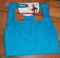 Size Small 32 Blue Mta High Impact Sport Bra Ladies