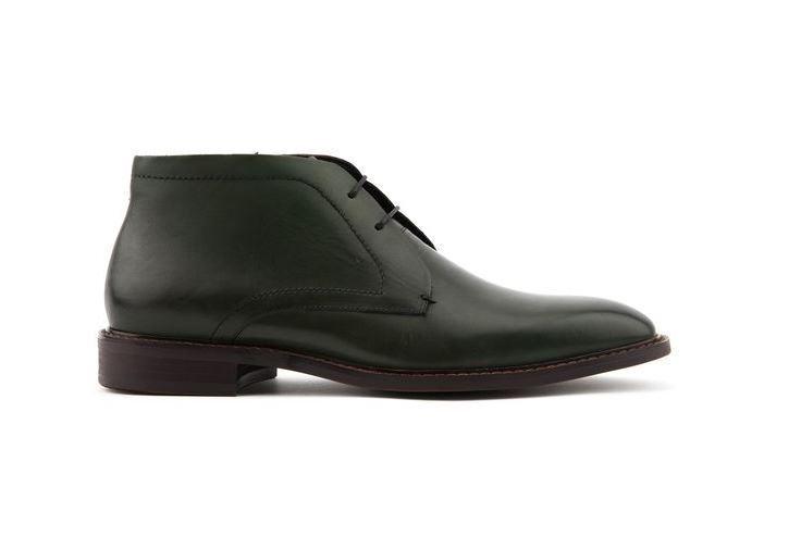 Jones Bootmaker For Men Farrow Dk Green Ankle Boots LN11 87 SALEw