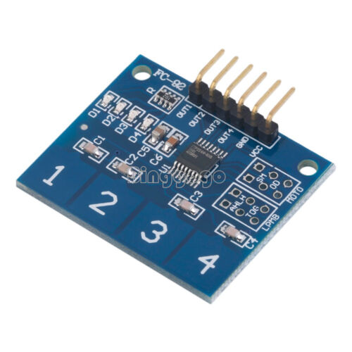 TTP224 4 Channel Digital Touch Sensor Module Capacitive Touch Switch Button