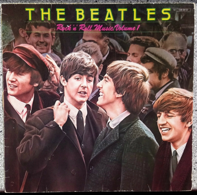 LP, The Beatles, Rock 'n Roll Music Vol. 1, Kan sendes…
