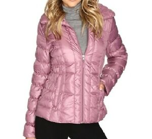Jacket Mauve Ruched Pink Cole Ny Down Lilla Kenneth Small Packable Kvinders xSqOxz6wKg