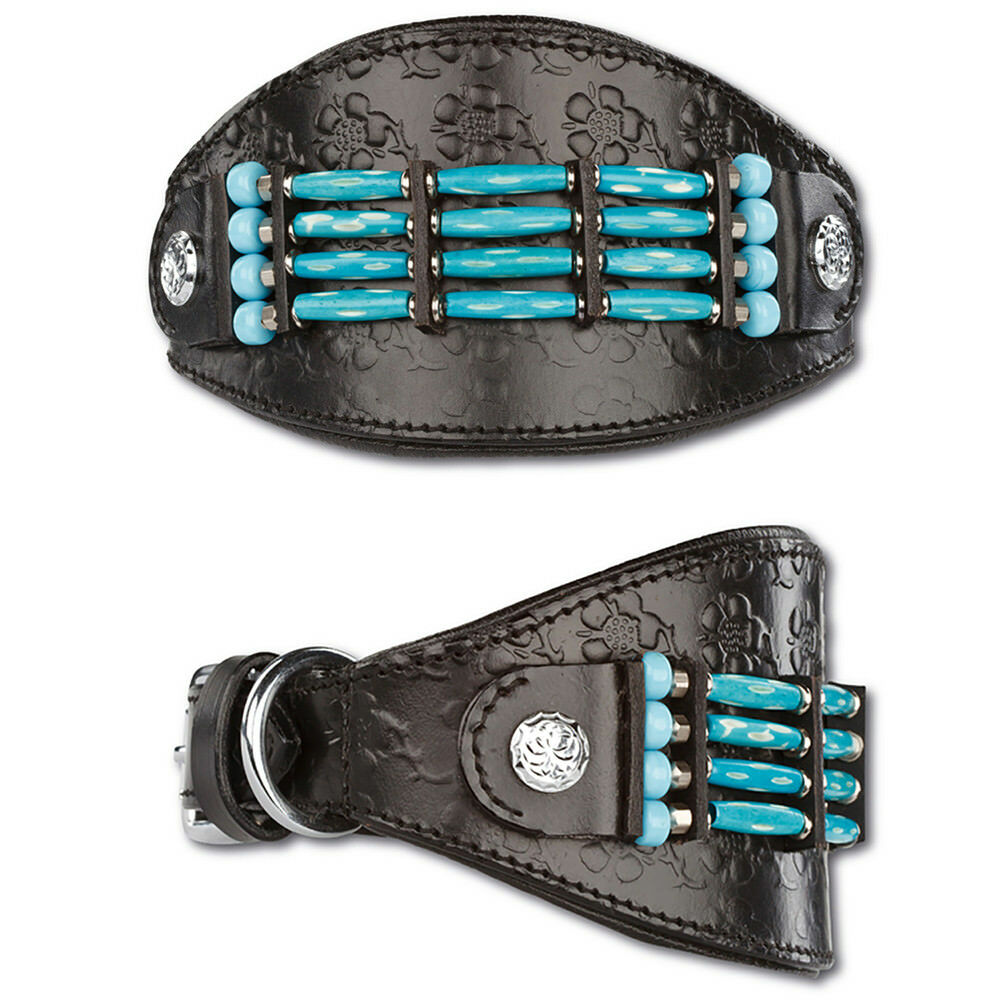 Greyhound Leather Collar Real Leather Dog Collar Dog Collar Greyhound collar