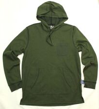 American Rag Cie Men's Colorblocked Light Sweater Hoodie Forest Night XL