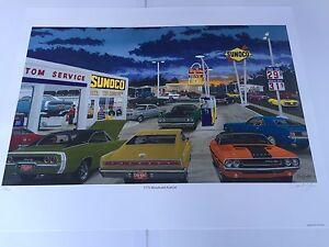 Details about David Snyder Woodward Ave Mopar Dodge Cuda Challenger Silver  Bullet GTX Dave